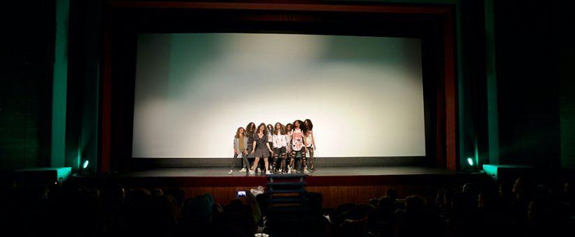 La Escuela de Danza Smile preparó una coreografía exclusiva para el festival.
