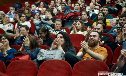 El público disfrutó con la última velada del Terroríficamente Cortos.