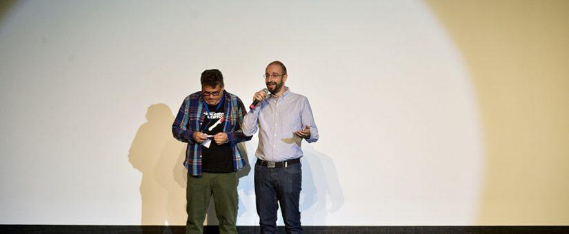 """Rafael González Palencia presentó el corto """"Z fest"""", del que es guionista."""